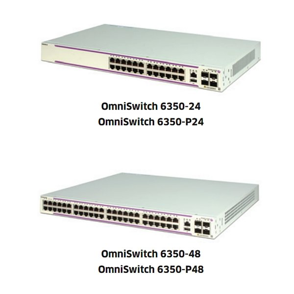 Alcatel-Lucent OmniSwitch 6350 Series Network Switches