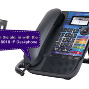 8018 Alcatel Lucent Deskphone