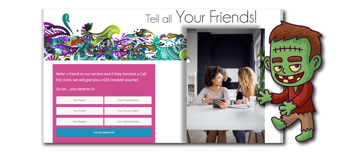 Call Pal Referral - Telephone Answering