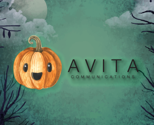 Avita Communications Halloween Newsletter