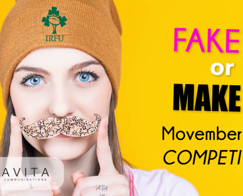 Fake IT or Make IT, Movember Selfie Competition. Win tickets to the Guinness Series 2018